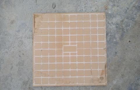 瓷砖涂刷面处理